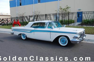 1959  FORD  Edsel Corsair Convertible CLICK HERE FOR PHOTOS in a NEW WINDOW